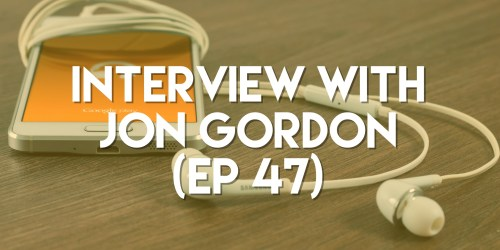 interview with jon gordon