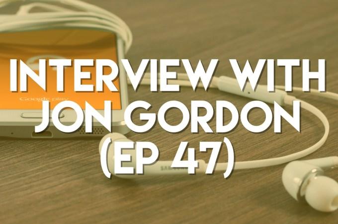 interview with jon gordon