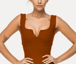Модель: Невидимый дышащий бюстгальтер PUSH-UP эффект