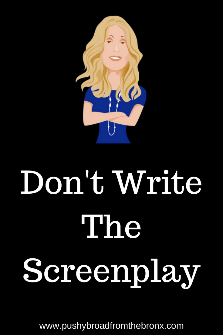 Are you hesitating in communicating because you anticipate what others will say? Stop expecting what will happen and don't write the screenplay. You don't have to script your life! #mindset #communication #relationships #personaldevelopment #personalgrowth #pushybroadfromthebronx
