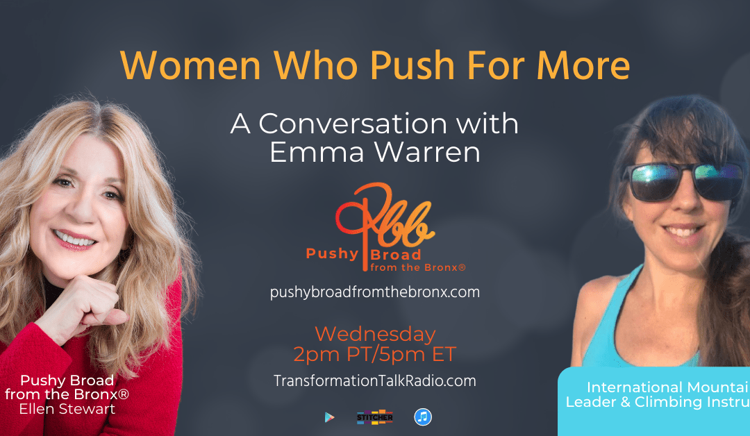 Women Who Push For More: A Conversation with Emma Warren
