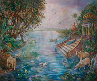 Backdrop ghat