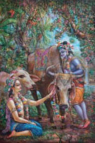 [K57] Krishna and Balarama love all the cows in Vrindavan