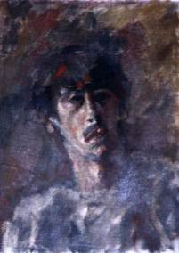 Early self-portrait
