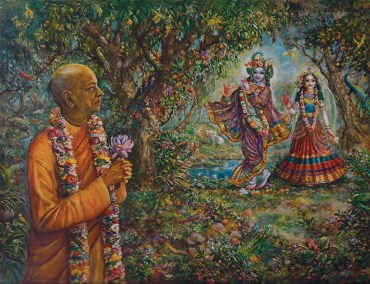 Srila Prabhupada Sees The Deities