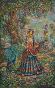 Radha Hears Flute