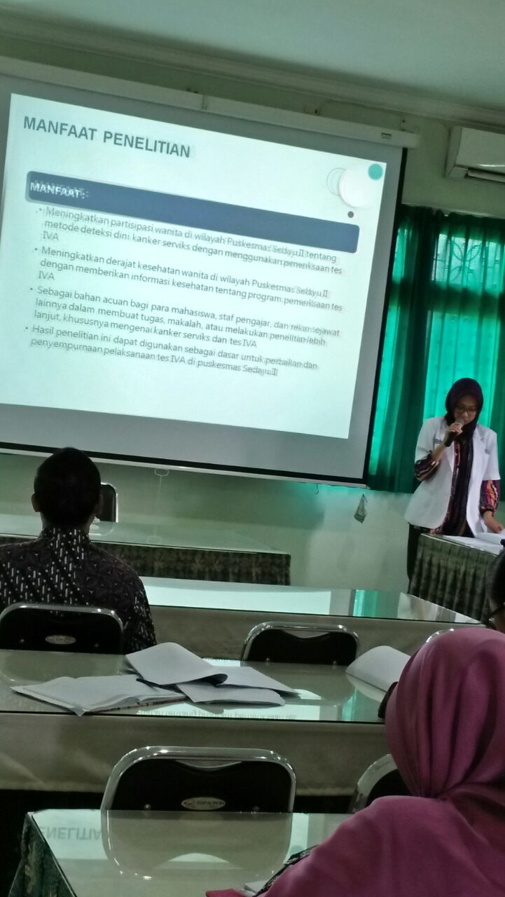 PRESENTASI HASIL MINI RESEARCH KOASS IKM FKIK UMY