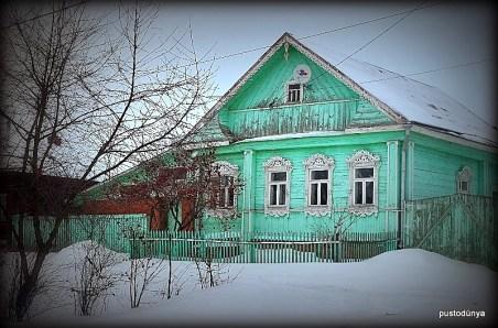 Rusya' nın cici şehri Suzdal' da her renk ahşap ev görmek mümkün.