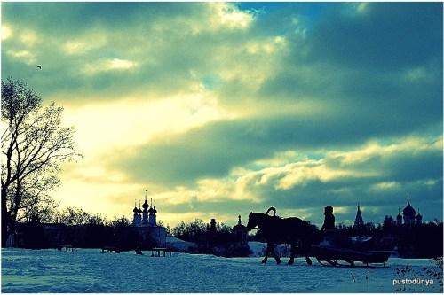 Sibiryanın ucunda bir kasaba Suzdal