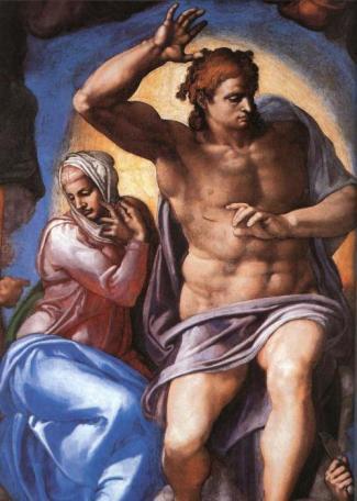 Michelangelo İsa Son yargı
