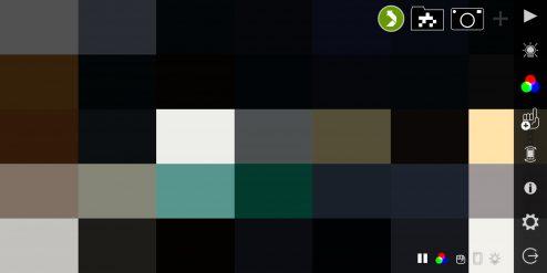 VideOSC, default screen