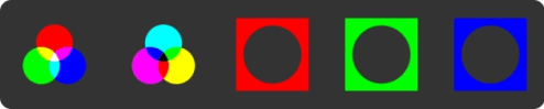 inverted RGB pallet
