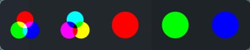 RGB palette