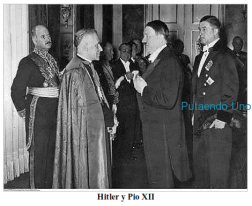 Ateismo cristianismo dios jesus biblia religion catolicos creyentes Hitler ss nazis segunda guerra mundial alemania reich vaticano españa yugoslavia albania italia mussolini imagenes pio xii