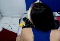 Novinha de Curitiba Vanessa dando cuzinho gozando
