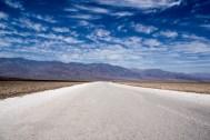 Badwater, le désert de sel, point le plus bas d'Amérique du Nord