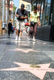 Le Hollywod Walk of Fame