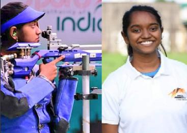 உலகக்கோப்பை ஏர் ரைஃபிள் போட்டியில் தங்கம் வென்றார் தமிழக வீராங்கனை!