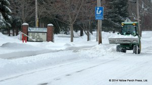 Put in Bay School snow