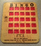 Bingo Card Put in Bay
