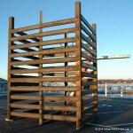 Put in Bay dock crib