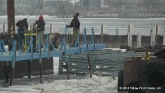 dock work Put in Bay