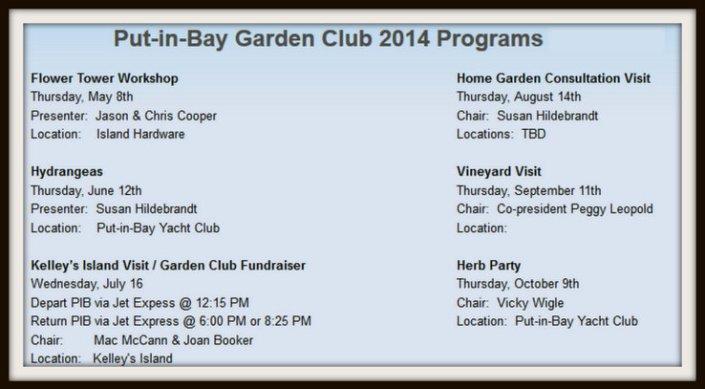 Put in Bay Garden Club