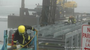 Put in Bay Barge Fire