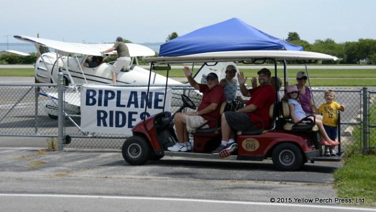 Bi-plane Put in Bay