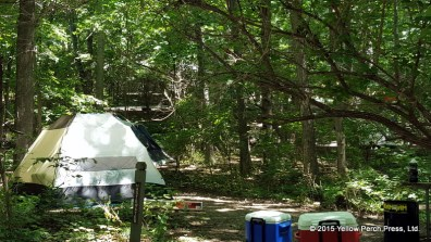 South Bass Island camping