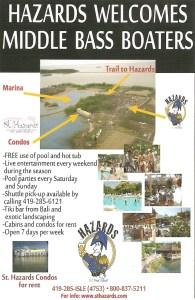 Hazards Middle Bass Island