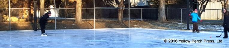 Ice skating Put in Bay