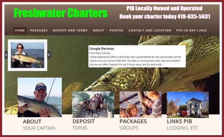 Put in Bay fishing charters