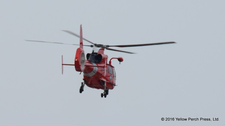 USCG rescue helicopter