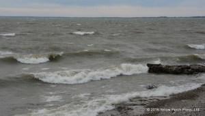 Lake Erie whitecaps