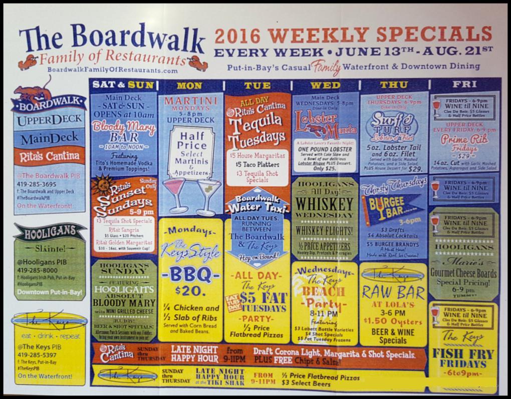 Put in Bay Boardwalk