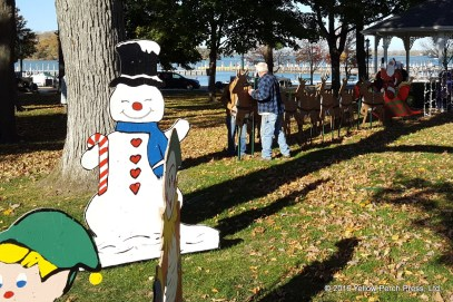Put in Bay holiday decorations