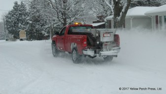 Put in Bay snow