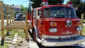 Put in Bay Fire Truck Bar