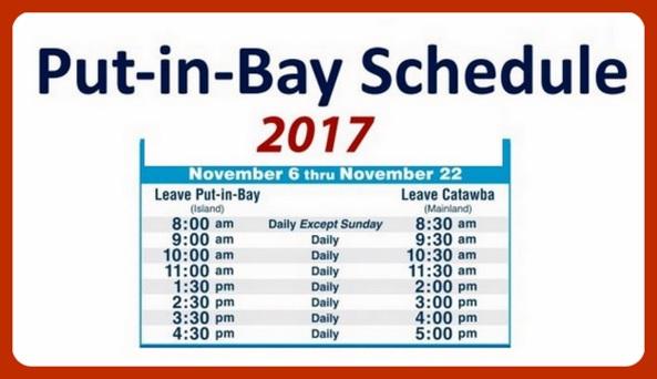 Miller Ferry Schedule