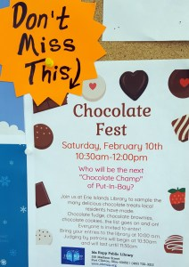 Put in Bay chocolate fest