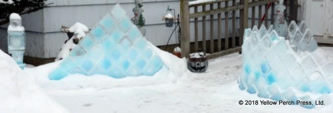 Put in Bay ice art