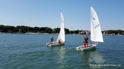 Put in Bay Swim Sail Program