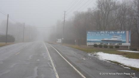 fog at Put in Bay