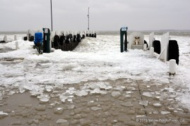 Lake Erie wind and ice
