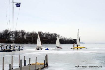 Put in Bay ice boats