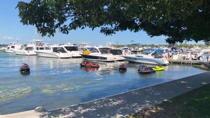Put in Bay public docks