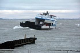 Miller Ferry in storm