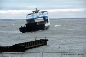 Miller Ferry in storm