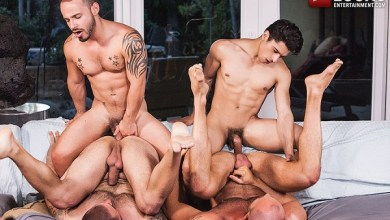 Photo of Lads Fucking Dads: Armond Rizzo, Rafael Lords, Pedro Andreas & Matt Stevens – Bareback